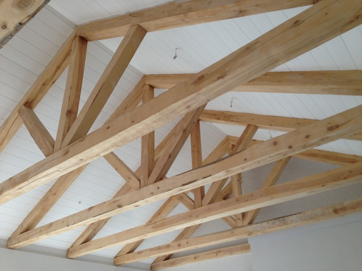 Poplar Timber Trusses